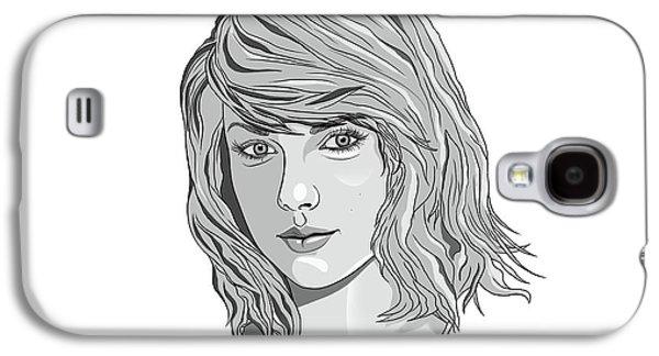 Queen Taylor Swift In Grey Galaxy S4 Case