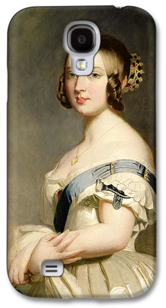 Queen Victoria Galaxy S4 Case by Franz Xavier Winterhalter