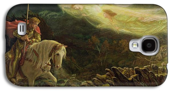 Quest For The Holy Grail Galaxy S4 Case by Arthur Hughes