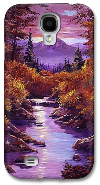 Quiet Autumn Stream Galaxy S4 Case