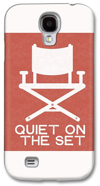 Quiet On Set 2- Art By Linda Woods Galaxy S4 Case by Linda Woods