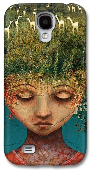 Quietly Wild Galaxy S4 Case by Catherine Swenson