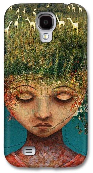 Llama Galaxy S4 Case - Quietly Wild by Catherine Swenson