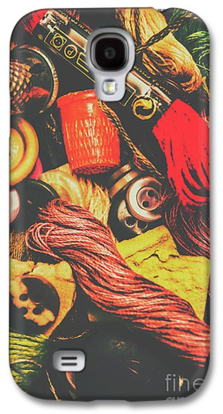 Quilting In Crochet Galaxy S4 Case by Jorgo Photography - Wall Art Gallery
