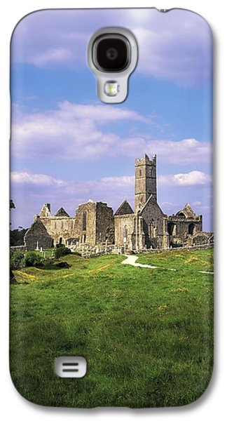Quin Abbey, Quin, Co Clare, Ireland Galaxy S4 Case by The Irish Image Collection