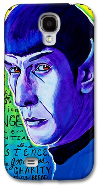 Quotable - Spock Galaxy S4 Case