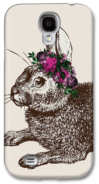 Rabbit And Roses Galaxy S4 Case by Eclectic at HeART