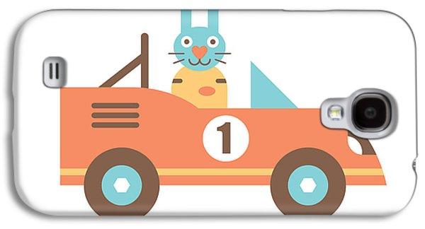 Rabbit Racer Galaxy S4 Case