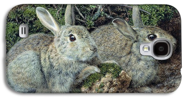 Rabbits Galaxy S4 Case by John Sherrin