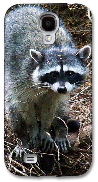 Raccoon  Galaxy S4 Case by Anthony Jones