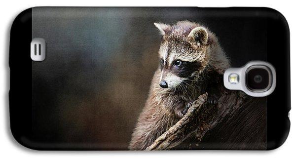 Raccoon Baby Galaxy S4 Case by Susan Carter