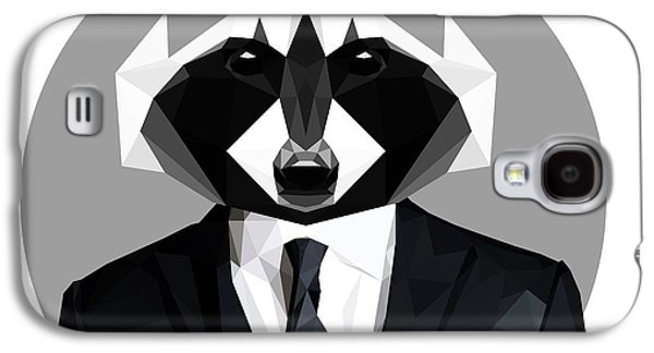 Raccoon Galaxy S4 Case by Gallini Design