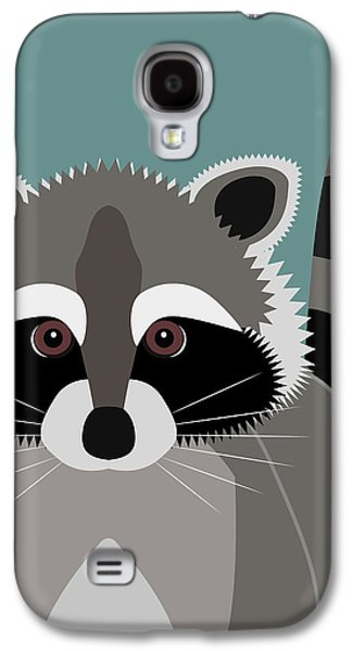 Raccoon Forest Bandit Galaxy S4 Case by Antique Images