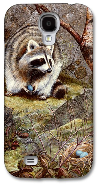 Raccoon Found Treasure  Galaxy S4 Case by Frank Wilson