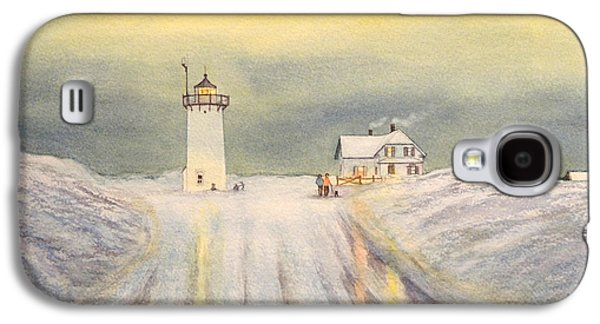 Race Point Lighthouse Provincetown Galaxy S4 Case
