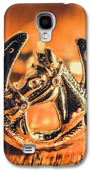 Racehorse Luck Galaxy S4 Case by Jorgo Photography - Wall Art Gallery