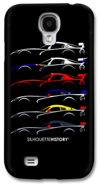 Racing Snake Silhouettehistory Galaxy S4 Case