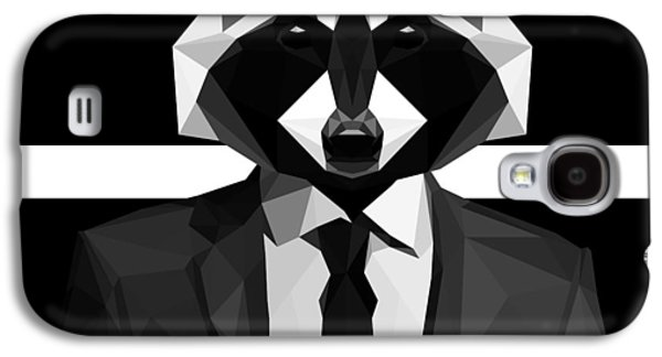 Racoon Galaxy S4 Case by Gallini Design