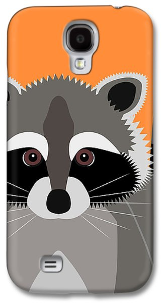 Raccoon Mischief Galaxy S4 Case by Antique Images