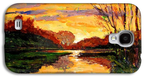 Raders Pond Day Break Sold Galaxy S4 Case by Charlie Spear