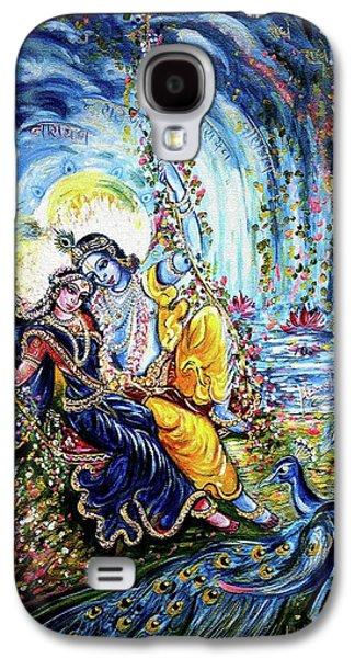 Radha Krishna Jhoola Leela Galaxy S4 Case