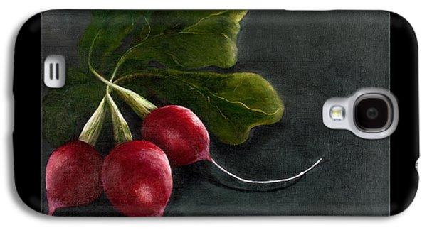 Radishes Galaxy S4 Case by Christina Burke-Gagnon