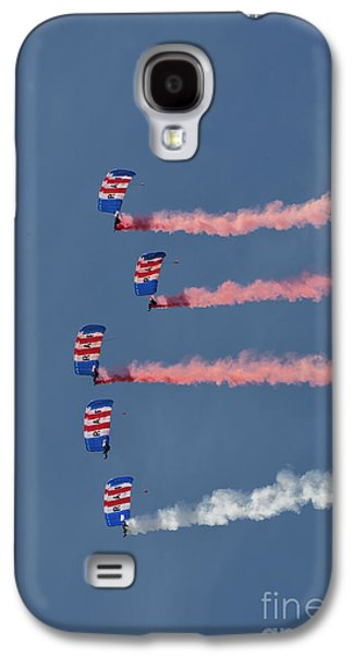 Raf Parachute Display Team Galaxy S4 Case