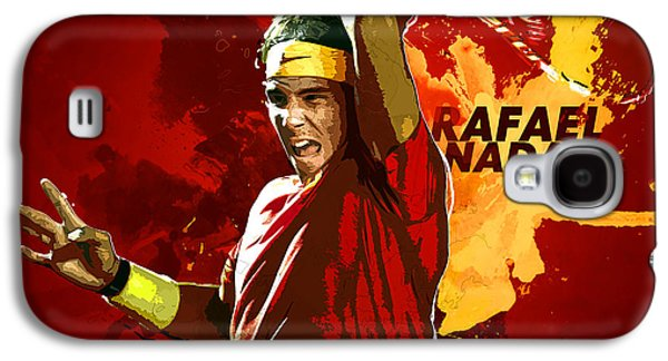Serena Williams Galaxy S4 Case - Rafael Nadal by Semih Yurdabak