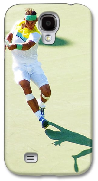 Rafael Nadal Shadow Play Galaxy S4 Case