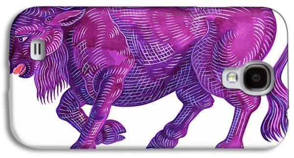 Raging Bull Taurus Galaxy S4 Case by Jane Tattersfield