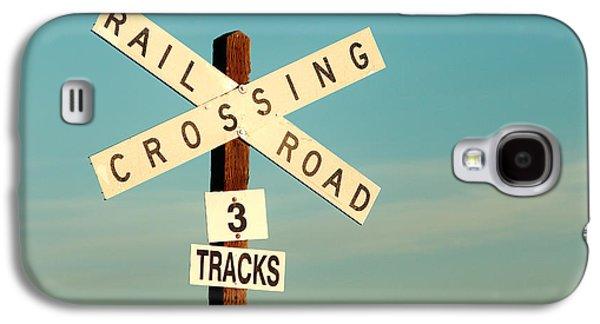 Railroad Crossing Galaxy S4 Case