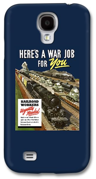 Railroad Workers Urgently Needed Galaxy S4 Case by War Is Hell Store