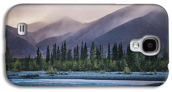 Rain And Snow Squalls Race Galaxy S4 Case by David Shaw