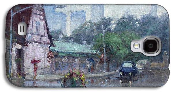 Rain In Old Falls Street Galaxy S4 Case by Ylli Haruni