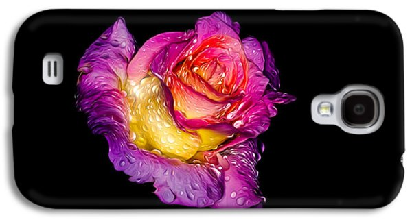 Rain-melted Rose Galaxy S4 Case