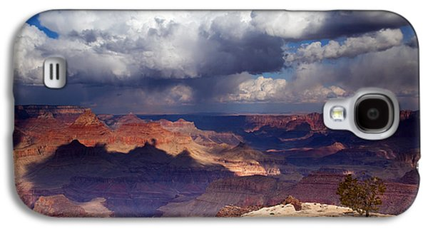 Rain Over The Grand Canyon Galaxy S4 Case by Mike  Dawson
