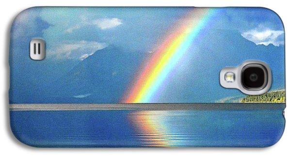 Rainbow 3 Galaxy S4 Case by Marty Koch