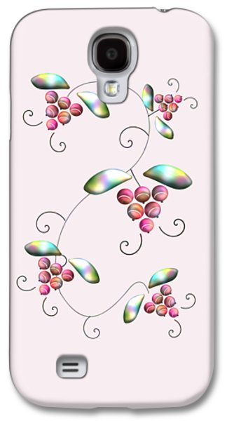 Rainbow Berries Galaxy S4 Case