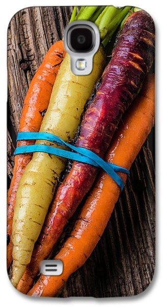Rainbow Carrots Galaxy S4 Case by Garry Gay