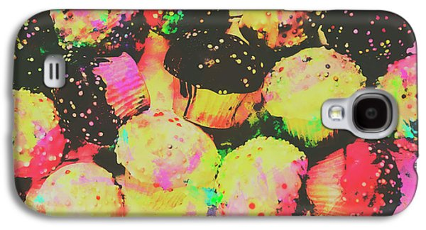 Rainbow Color Cupcakes Galaxy S4 Case by Jorgo Photography - Wall Art Gallery