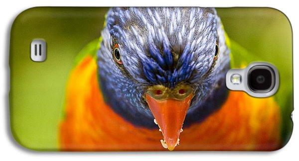 Parrot Galaxy S4 Case - Rainbow Lorikeet by Sheila Smart Fine Art Photography