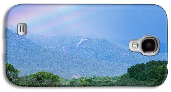 Rainbow Over A Mountain Range, Taos Galaxy S4 Case
