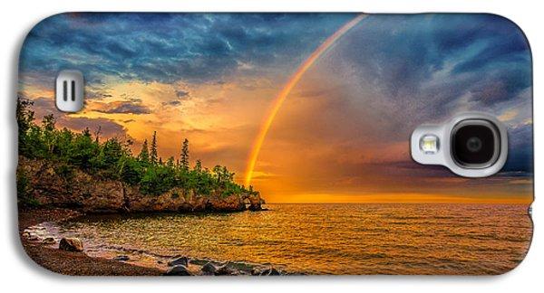 Rainbow Point Galaxy S4 Case