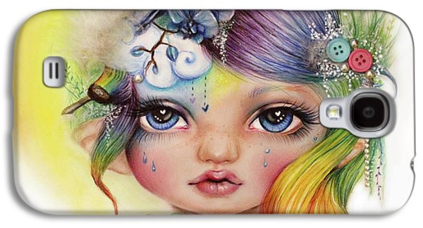 Rainbow Rosalie  Galaxy S4 Case by Sheena Pike