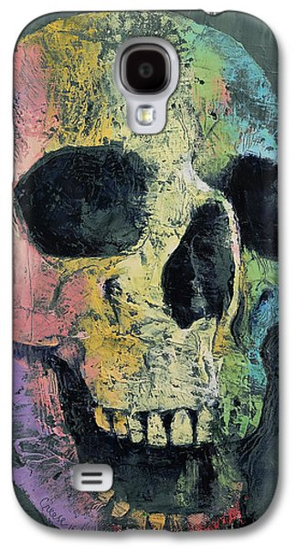 Happy Skull Galaxy S4 Case by Michael Creese