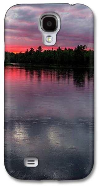 Raindrops At Sunset Galaxy S4 Case by Mary Amerman