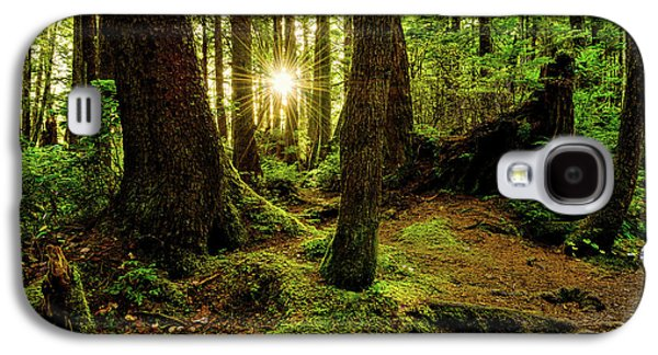 Rainforest Path Galaxy S4 Case by Chad Dutson