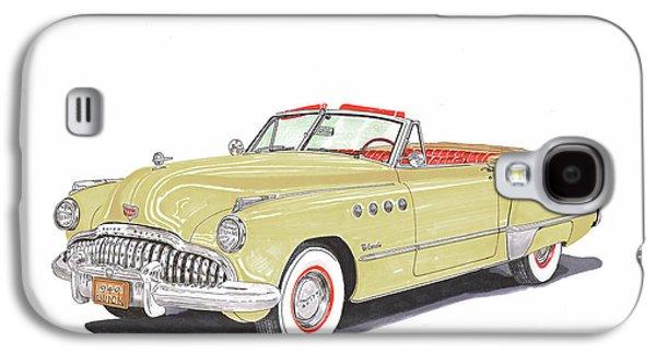 Rainman 1949 Buick Roadmaster Galaxy S4 Case by Jack Pumphrey