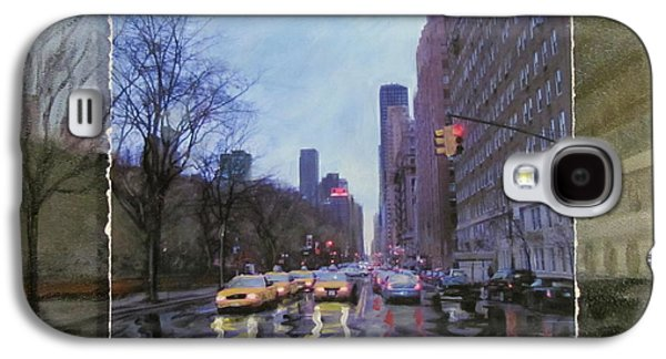 Rainy City Street Layered Galaxy S4 Case