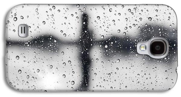 Abstract Rain Galaxy S4 Cases - Rainy day Galaxy S4 Case by Setsiri Silapasuwanchai